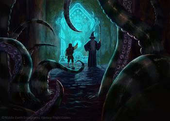 The Gates of Moria by MarkBulahao