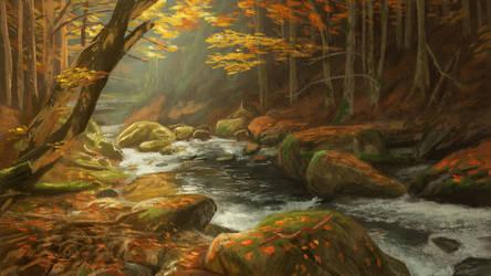 Autumn Forest by MarkBulahao