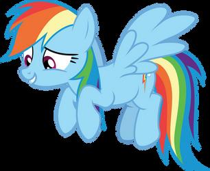 [Vector] Rainbow Dash #6 by Sinkbon