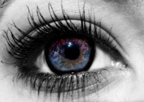 Her Eyes Held The Universe