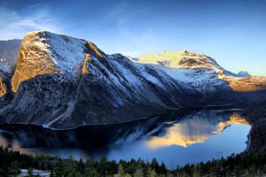 Skjomen fjord by BobboKrull