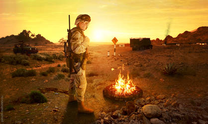 Desert-Soldier by Pavel-Matveev