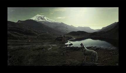 Wolf by Pavel-Matveev