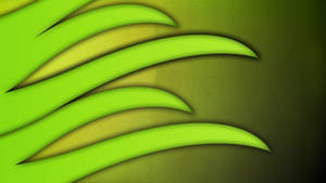 Green Spike Thing by Sheepykipz
