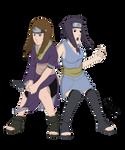 Commission: Yakumo and Isaribi Battle Ready