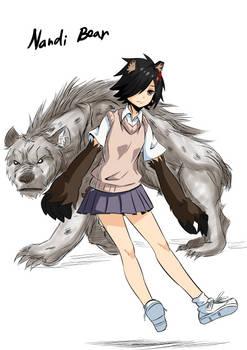 Monsters and Mamono: Nandi Bear