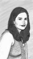 Retrato Misteriosa Mujer