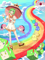 Over the Rainbow - GUMI by JasmineTeen