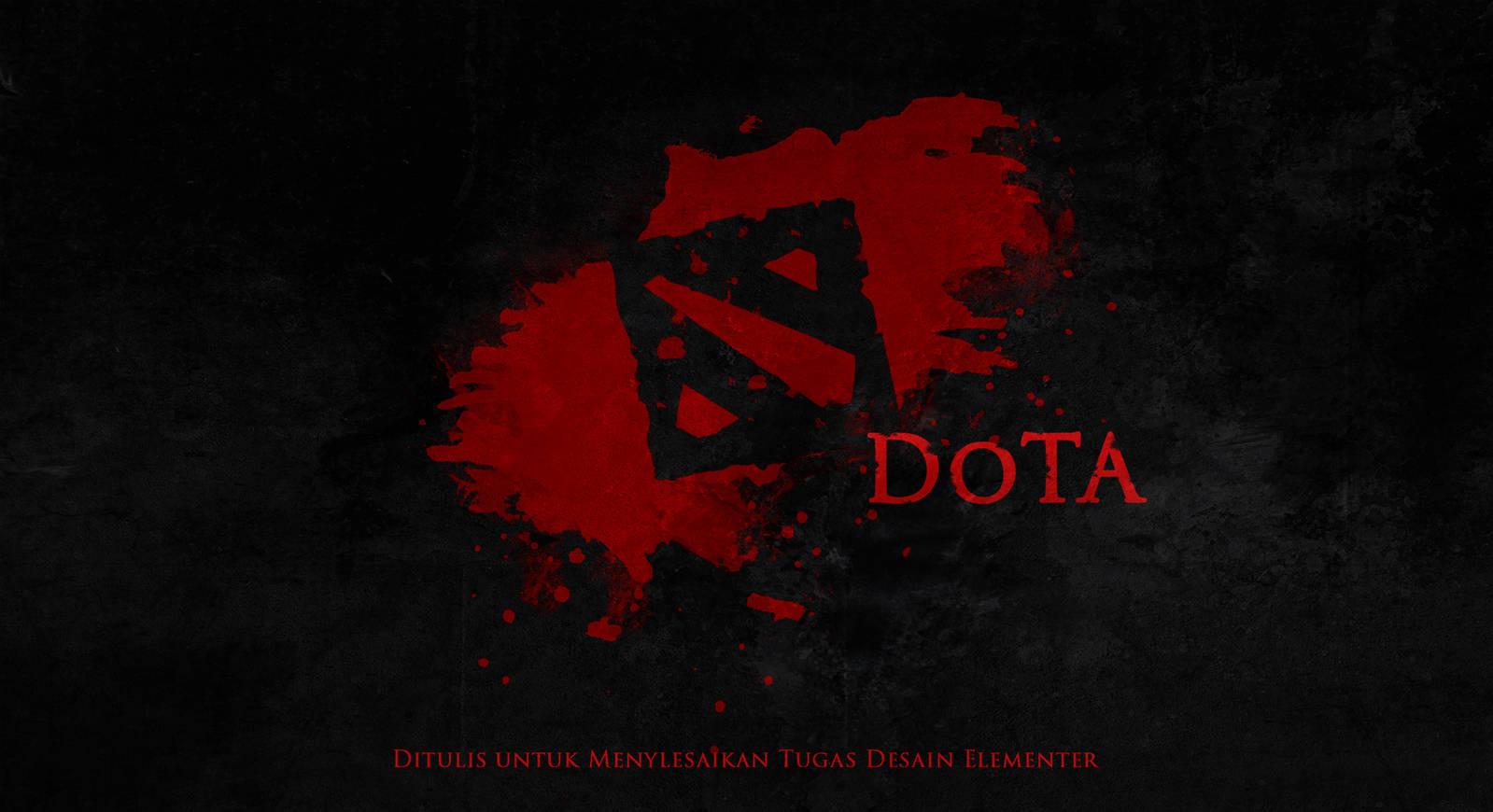 Dota 2 Logo Fanart by theGinZ