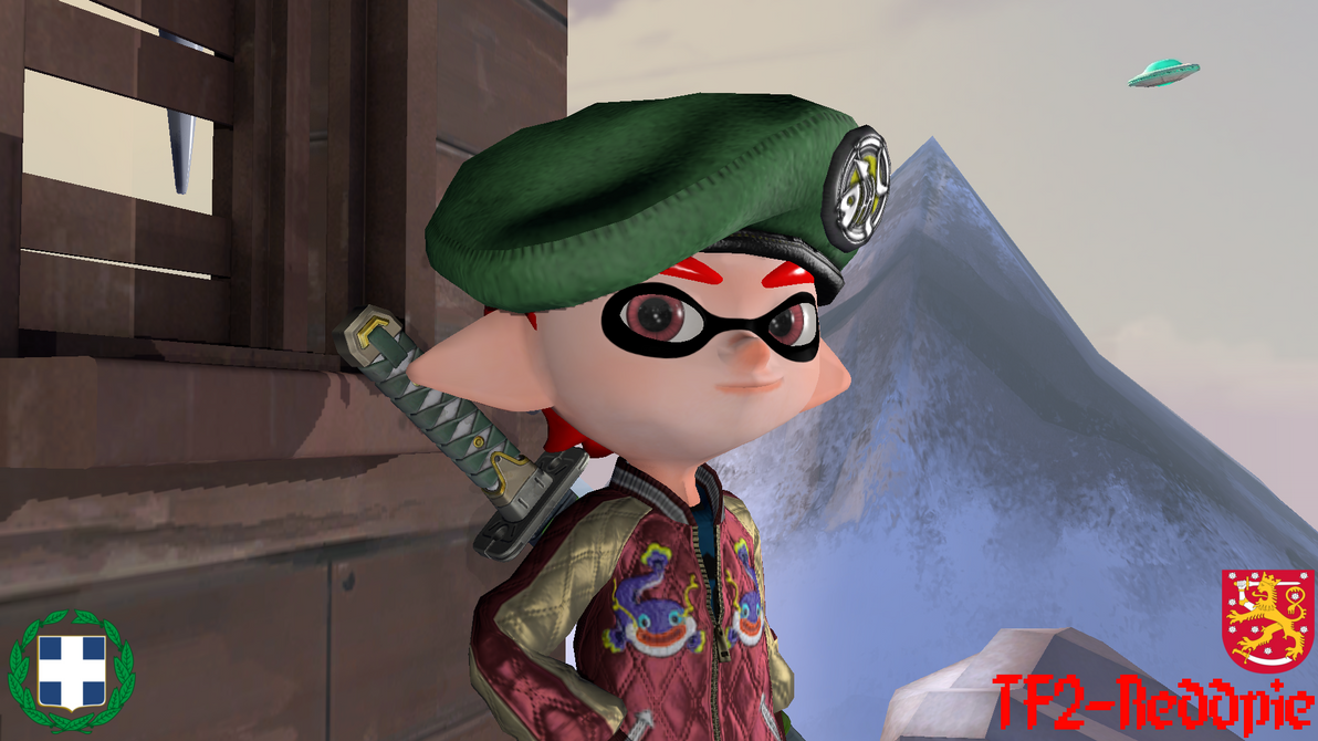 new and improved Squid on the block by tf2redpie