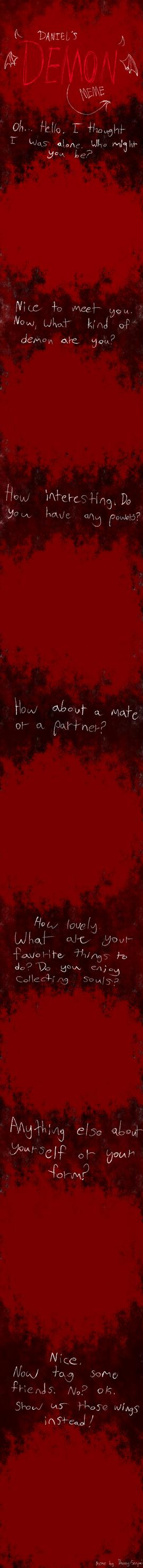 Demon OC Meme -Blank- by Pastel-Demon-Prince