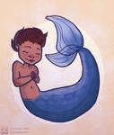 Mermaid tot