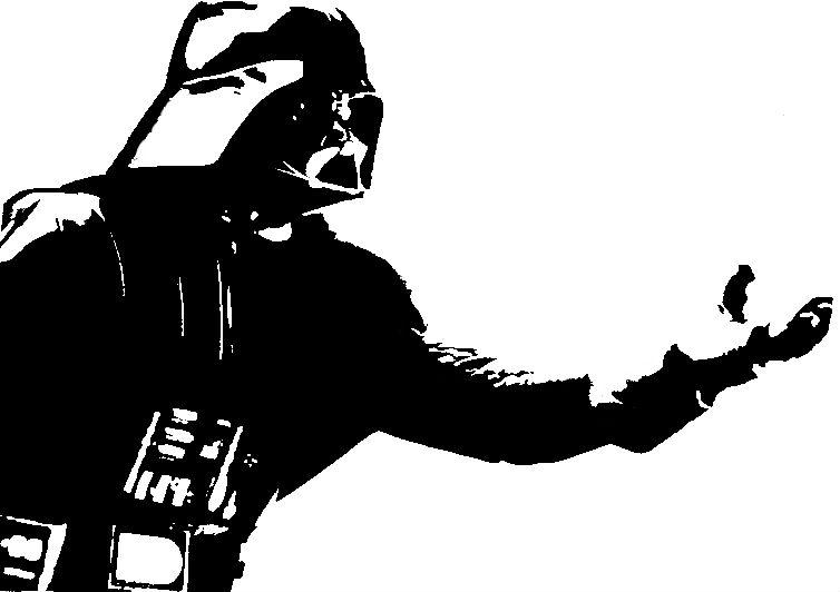 Vader Stencil by MizterMaz on DeviantArt