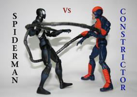 CONSTRICTOR VS SPIDERMAN