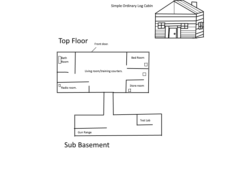 Pattons home floor plan by CmndrWolfnumbuh60