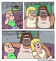 Clarence Fan Comic by BrandonPewPew