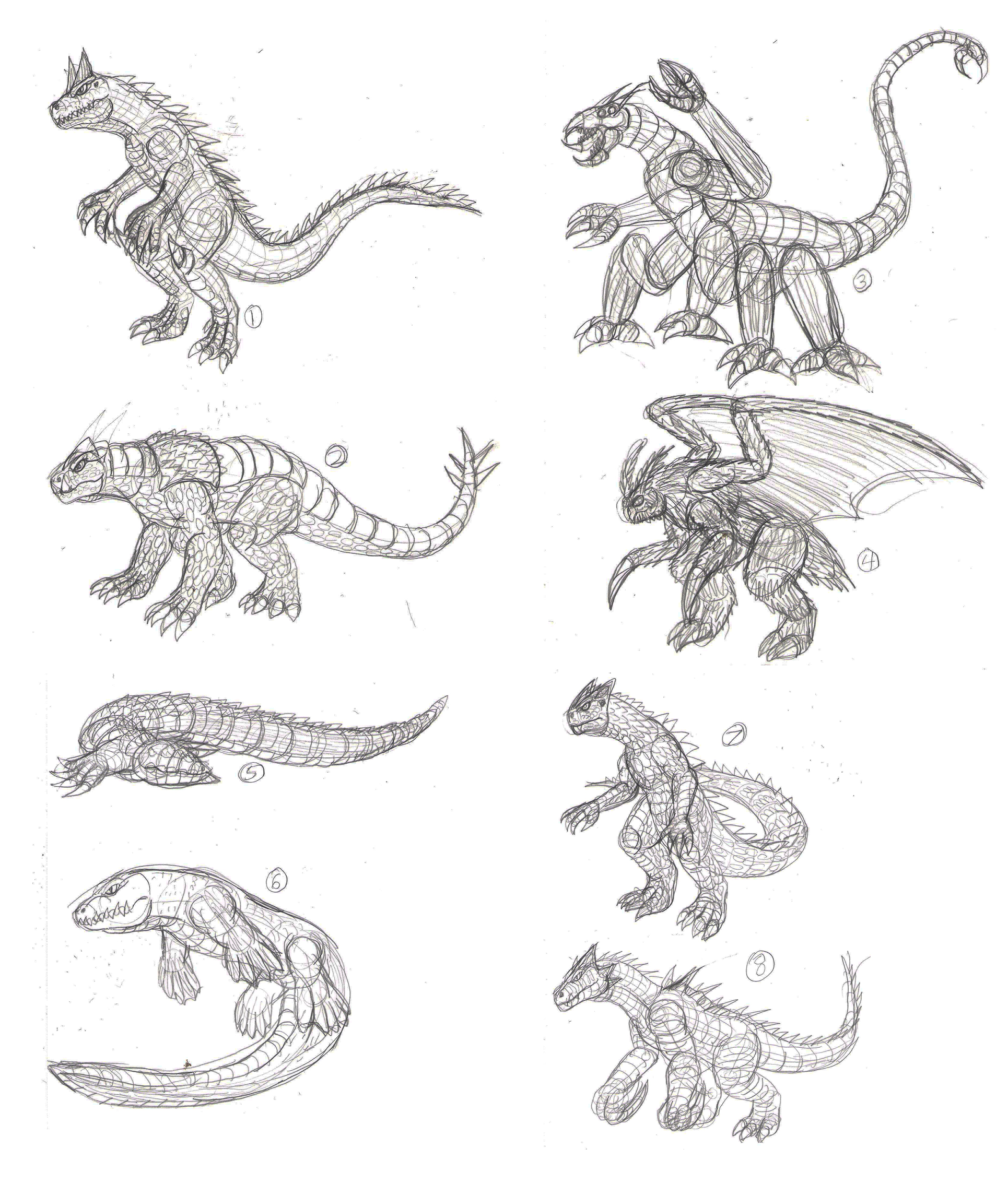 New Kaiju Designs By JacobSpencerKaiju79 On DeviantArt