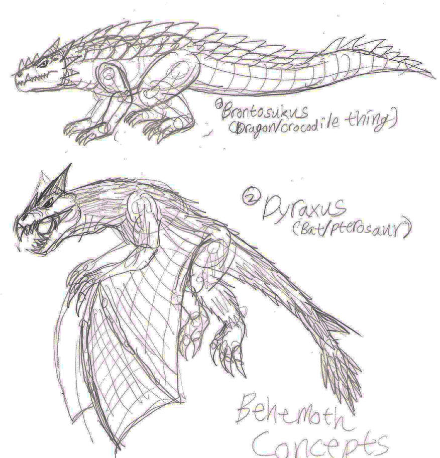 Behemoth Concepts 12-6-14 by JacobMatthewSpencer