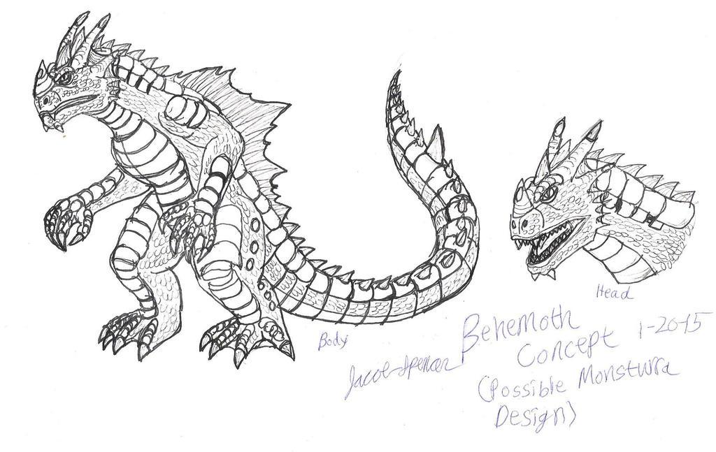 Behemoth Concept 1-20-15 by JacobMatthewSpencer