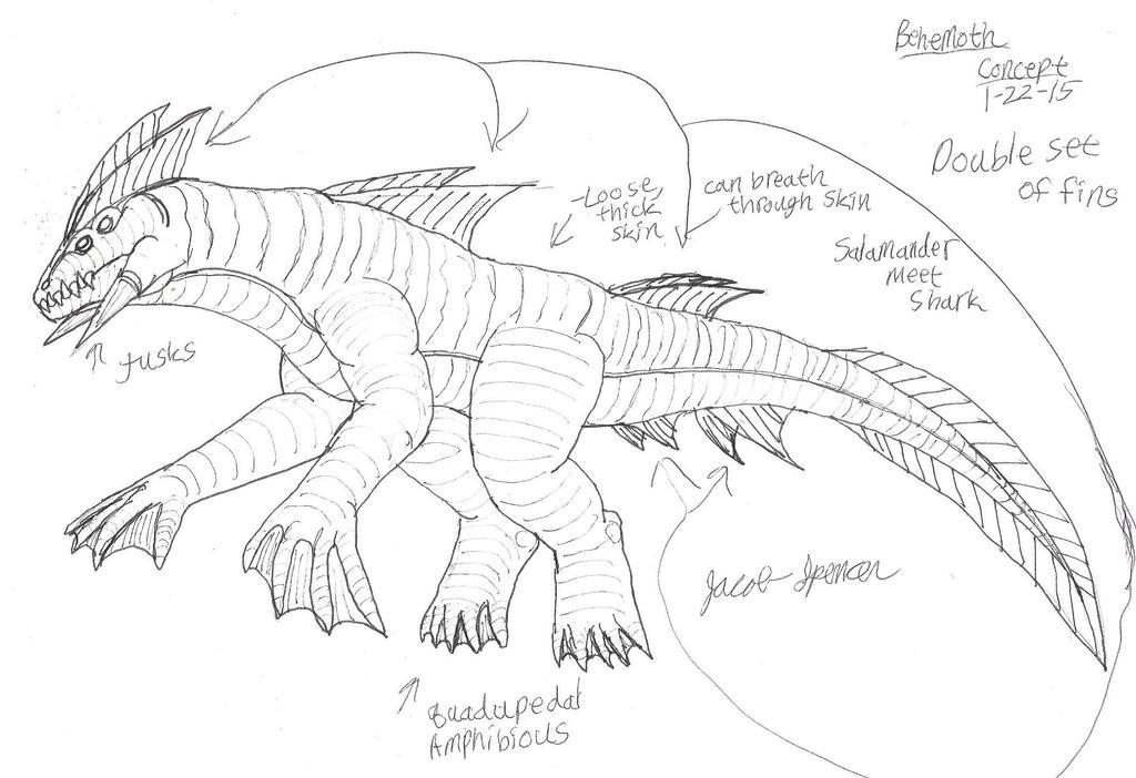 Behemoth Concept 1-22-15 by JacobMatthewSpencer