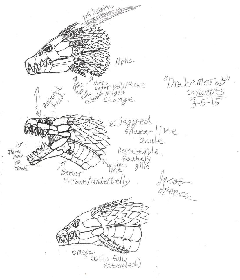 'Drakemoras' Concepts 3-5-15 001 by BehemothMaker