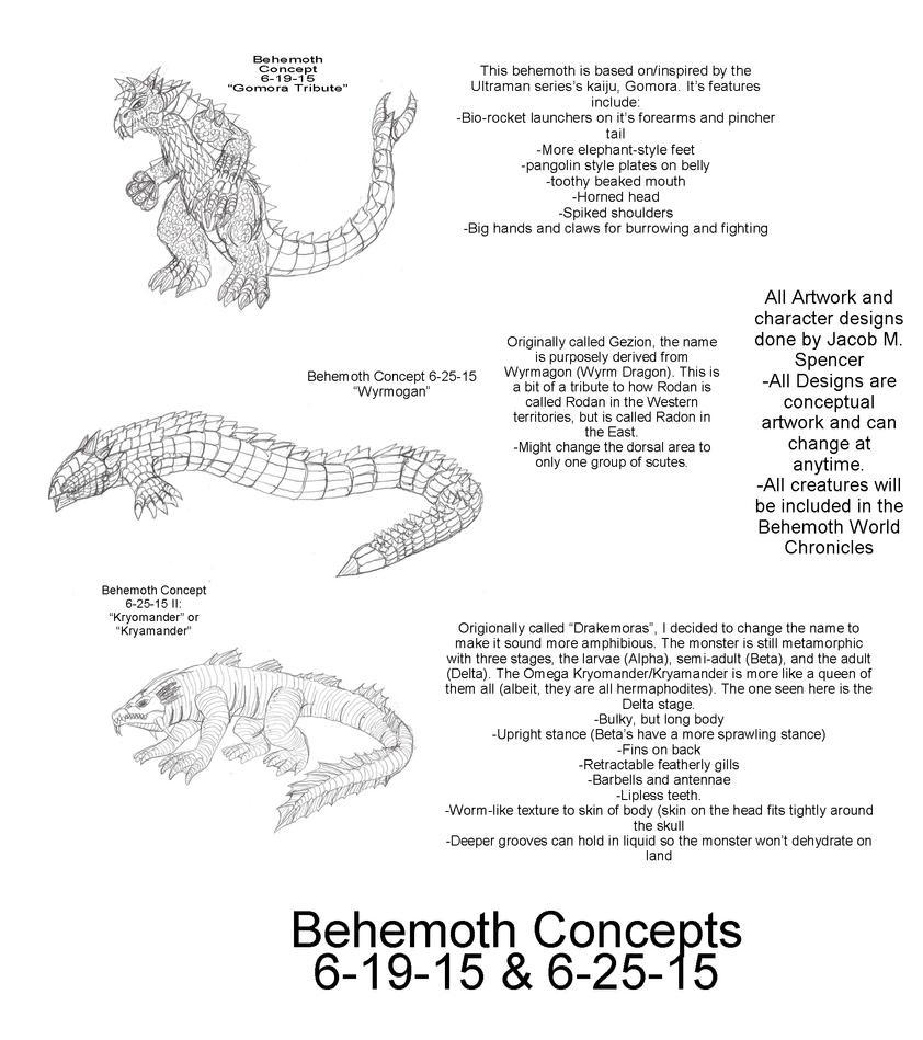 Behemoth Concepts June 19-25, 2015 by BehemothMaker