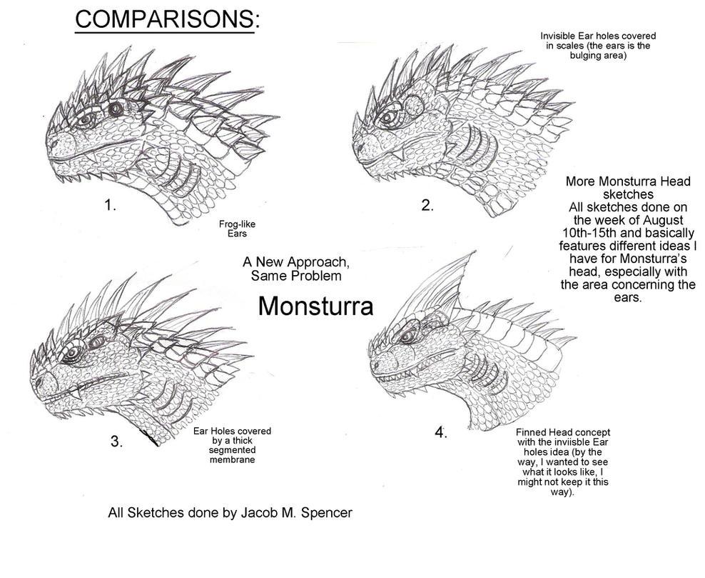 Comparisons-Monsturra, Again by BehemothMaker