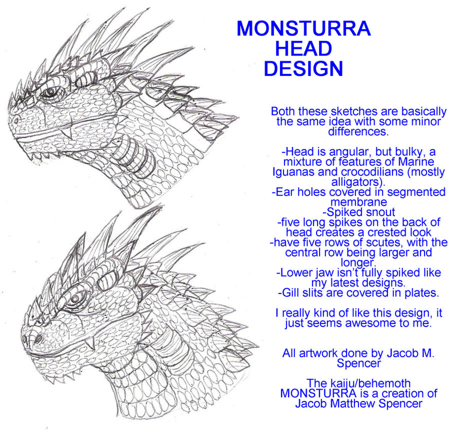 Monsturra Head Design 8-15-15 by BehemothMaker