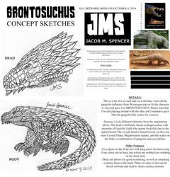BRONTOSUCHUS-Concept Sketches-October 4, 2018 by JacobSpencerKaiju79