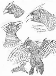 Deinopteryx Concept Sketches-4-18-2019