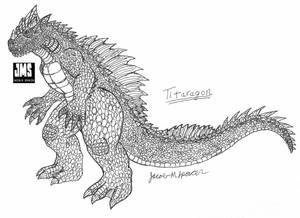 TITARAGON-Inked Sketch-October 3, 2019