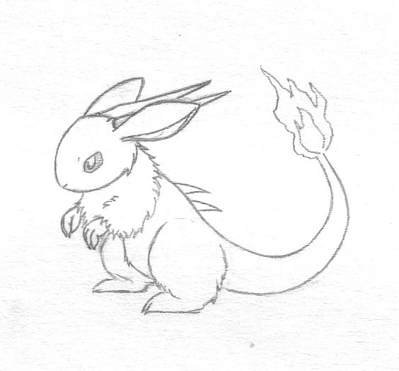 Bunny dragon doodle by sunnyfish on deviantart bunny dragon doodle by sunnyfish altavistaventures Image collections
