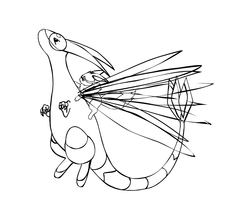 Sunny sky coloring pages coloring coloring pages for Flygon coloring pages