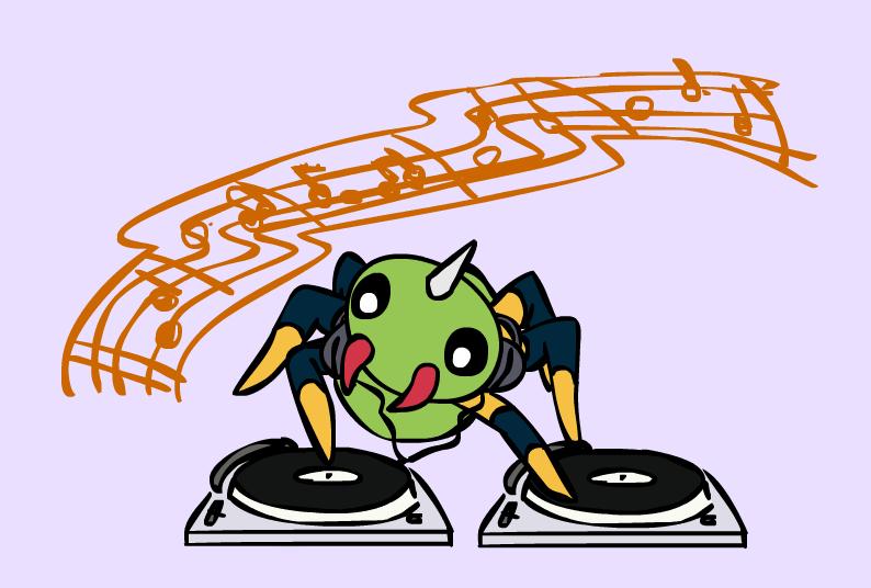Spinarak DJ by sunnyfish