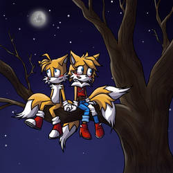 Sitting in the Moonlight