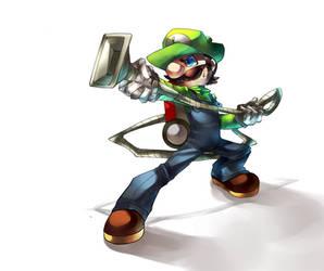 Luigis mansion by Nyaph