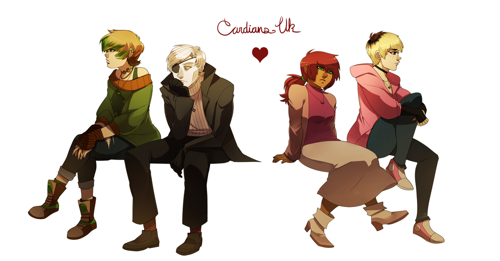 CARDIANS UK : HEARTS (Link in the description) by Nyaph