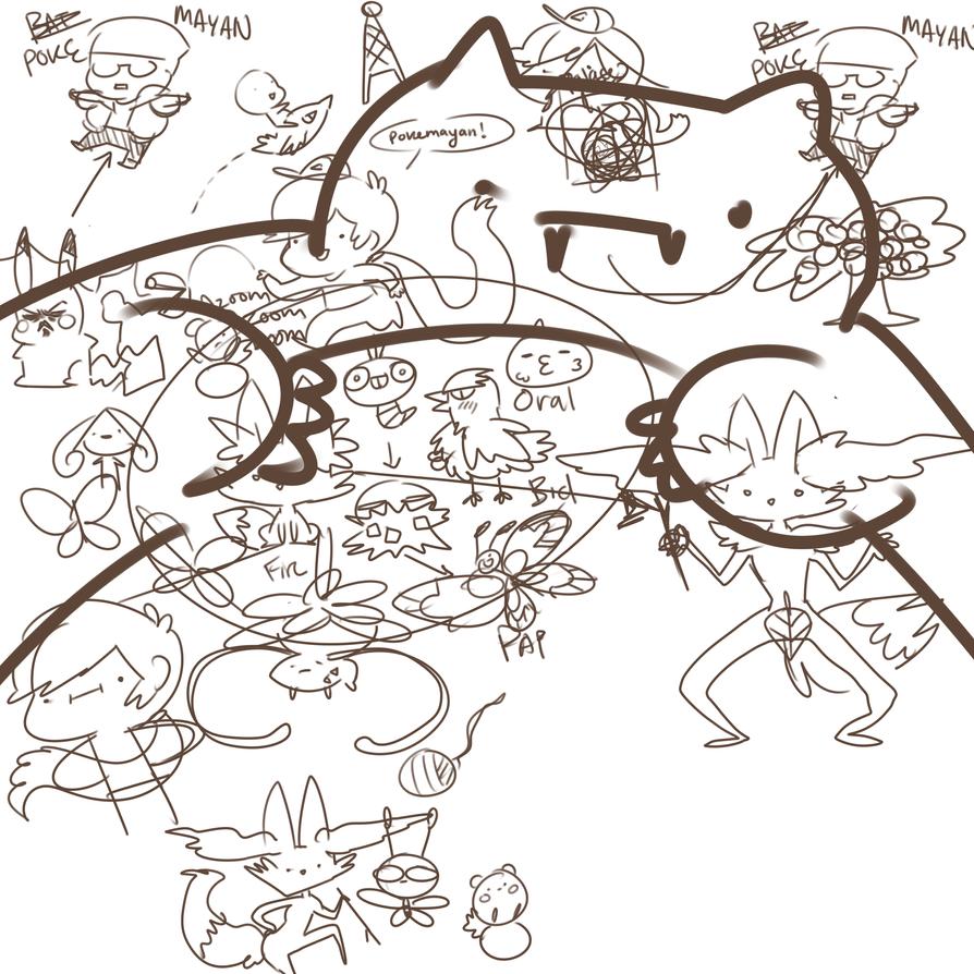 My Pokemayan Adventure by Nyaph