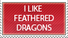 Feathered Dragons by Denychie