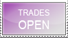 Trades Open Stamp by Denychie