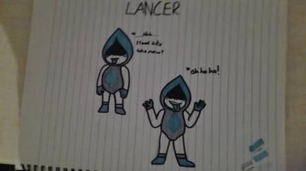 Lancer - Deltarune doodles