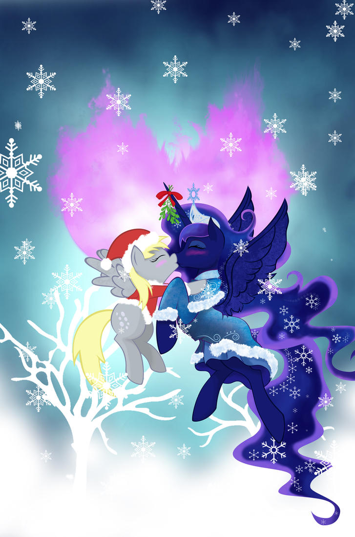 Christmas Derpy by artist-apprentice587