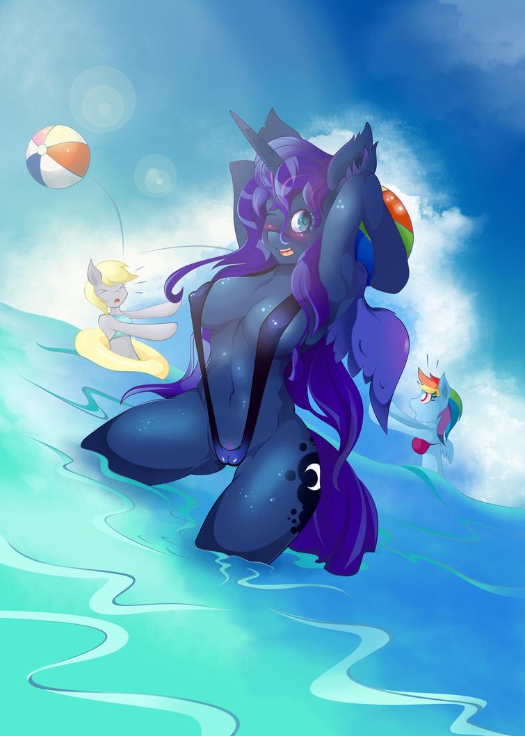 Ocean fun by artist-apprentice587