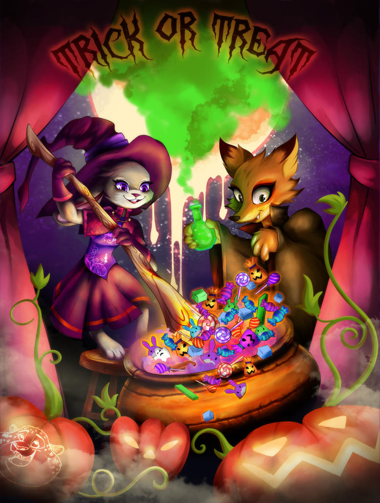 Trick or Treat? by artist-apprentice587