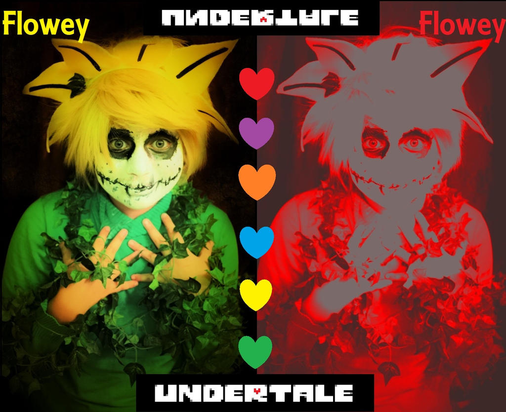Undertale Flowey the Flower Cosplay Your Choice by YamiKlaus on DeviantArt