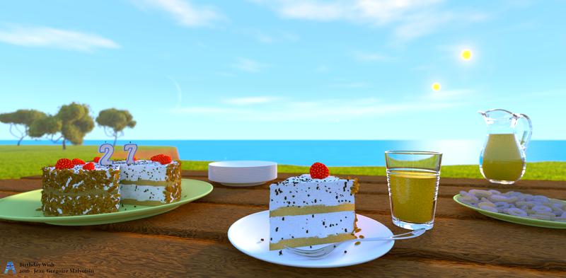 Birthday Wish by akikun-cgi