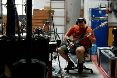 Alex in Recording by morpe