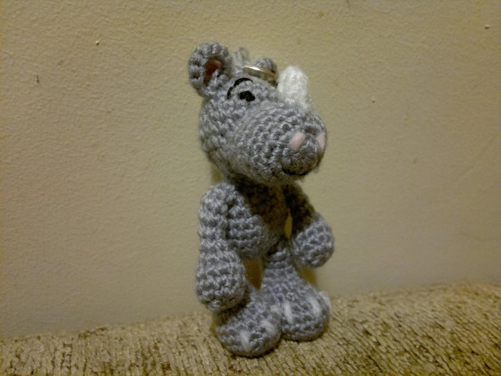 Amigurumi Rhino : Amigurumi Little Big Foot Rhino by Amiguruthi on DeviantArt