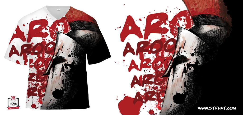 Spartan Race Team T-shirt design by snozexp