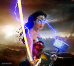 Wonder Woman Goddess of thunder